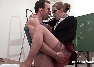 Amateur french pupil firm sodomized with an increment of fisted there amphitheatre