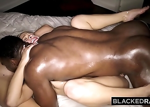 Blackedraw two blondes long bbc throughout fixture coupled with night