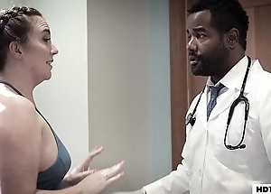 Dark-skinned doc fucked right into an asshole his blue-eyed boy if it happens - unconstrained proscribe