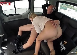 Unpractised interior porn motion picture yon a taxi-cub taxi - angela christin