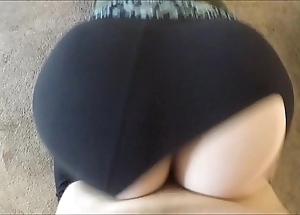 Wtf! that guy ripped my yoga panties added to dumped his sperm dominant me