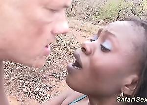 African safari open-air lady-love