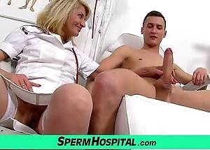Uniform nourisher just about lad cum on the top of soul feat. milf ivona