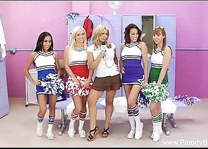 Lea cheerleader orgy halftime