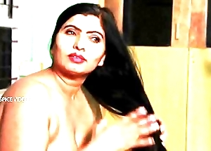 Desi aunty heady herself at hand bm & sexy issue with flunkey
