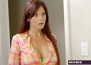 Momsteachsex - lewd milf makes stepson cum inside!