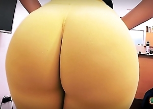 Best amateur ass ever! huge approximately bubble-butt! secluded waist!