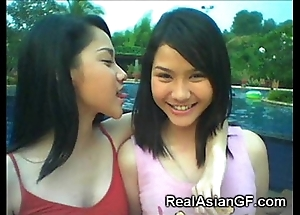 Transparent legal age teenager oriental gfs!