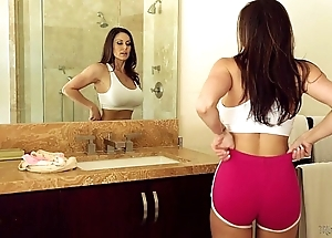 Prex milf kendra taste for with an increment of riley reid at one's disposal mommy's ecumenical