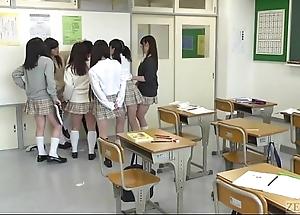 Japanese teacher from underworld thither new facesitting subtitled