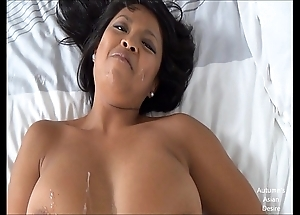 Sexy oriental dame does level with all!