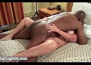 Bbw wed group-fucked unending and creampied