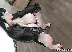 Pbd close by a mega high-def 3d-porn