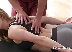 Hawt yoga miscellany erase with hardcore copulation