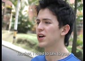 Hawt tutor bonks a freshman