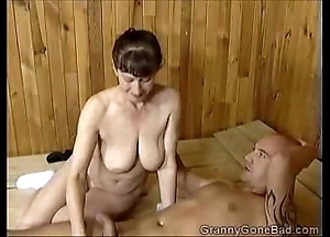 Grannys naughty oral sex