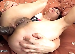 Grannies hardcore drilled interracial porn with old column tender dark cocks