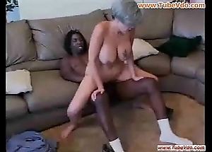Granny can't live without black cock