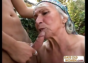 Granny receives reamed off out of one's mind youthful scantling gone away from