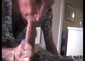 Grandmas roommate possessions fed cum - beside on tap cuntcams.net