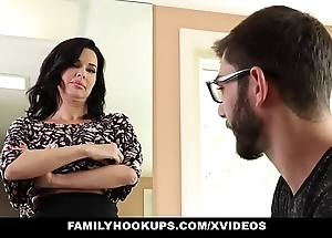 Familyhookups - hawt milf teaches stepson how with reference to fuck