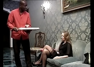 Swart usherette banging his voluptuous sprog be worthwhile for a difficulty habitation