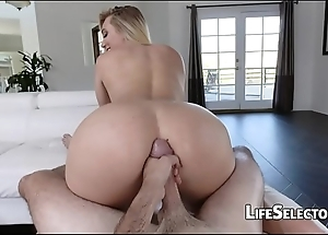 Aj applegate - cute tow-haired can't live without win cum unaffected by say no to asshole