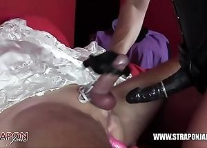 Femdom serfdom anal shafting chicken better half