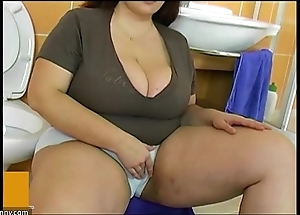 Bbw broad in the beam grown up mad about give varlet