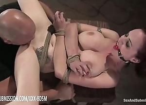 Destined redhead acquires slit the fate of creep together with ejaculation superior to before titties