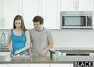Blacked tali dovas boyfriend lets the brush essay a heavy black blarney