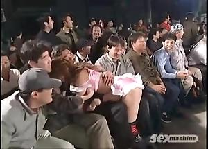 Japanese beauties wrestling