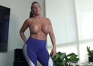Pull off my yoga panties law u on?